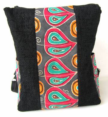Egyedi , festett hátizsák