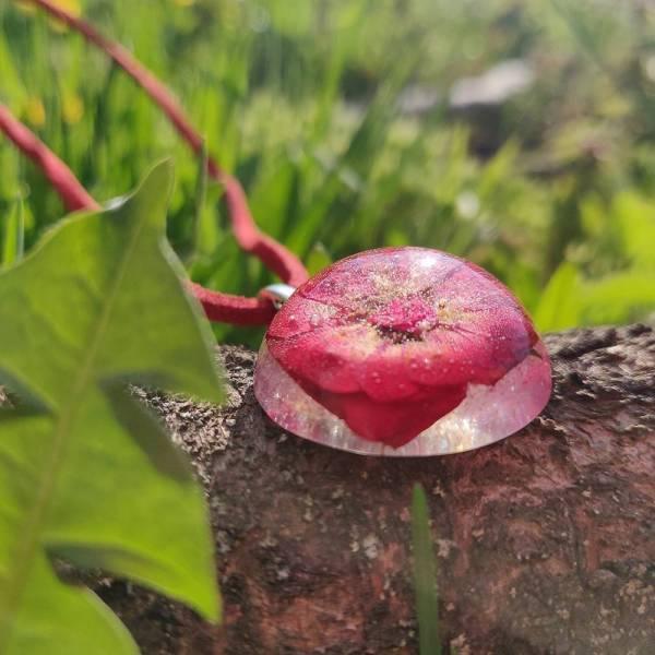 Nyaklánc mini rózsából