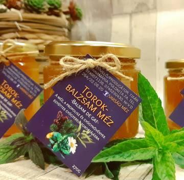 Torokbalzsam méz