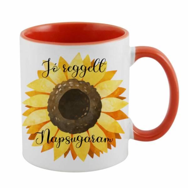 """Jó reggelt, Napsugaram"" bögre CH352"