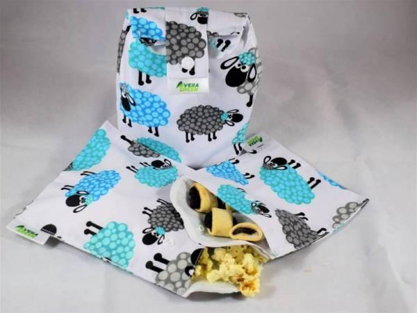 Uzsonnás-táska és snackbag/nasitasik - báránykák
