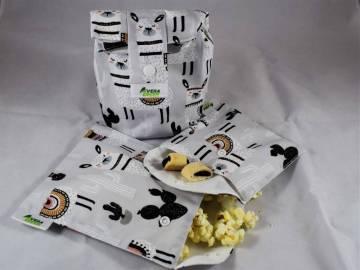 Uzsonnás táska és snackbag/nasitasik - Láma