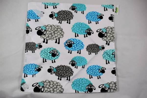 Mosható, frissentartó újraszalvéta, ökoszalvéta, nowaste - báránykák