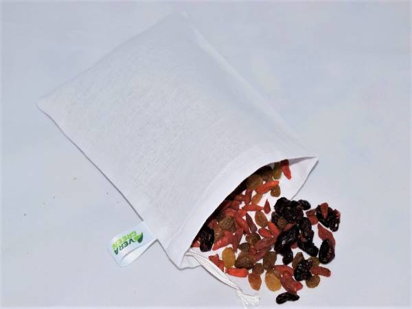 Nowaste, mosható vászonzsák szett - 5 db